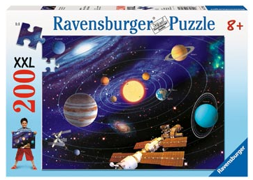 200PC Rburg - The Solar System Puzzle