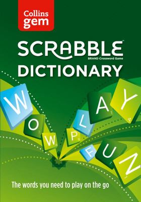 Collins Gem Scrabble Dictionary 4th Edition