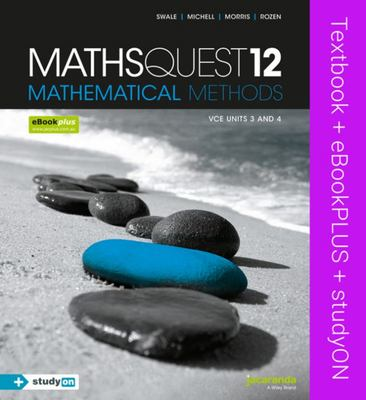 OLD EDITION Maths Quest 12 Mathematical Methods VCE Units 3 and 4 & eBookPLUS + StudyOn