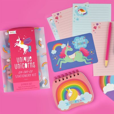 Unique Unicorns - Stationery Kit