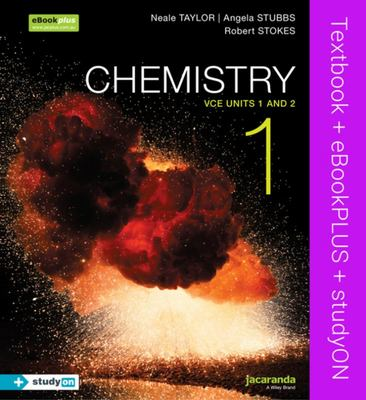 ST138 Chemistry 1 VCE Units 1 and 2 & eBookPLUS + Study On
