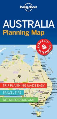 Lonely Planet - Australia Planning Map 1
