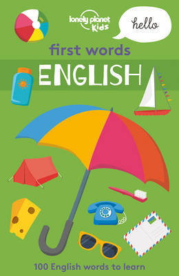 First Words - English 1 (Lonely Planet Kids)
