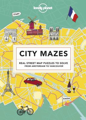 City Mazes: Real Street Map Puzzles to Solve