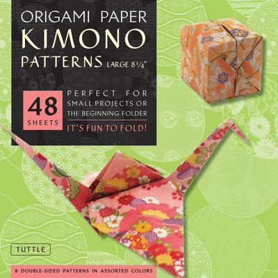 Origami Paper Kimono Patterns Large: LARGE / 49 Sheets