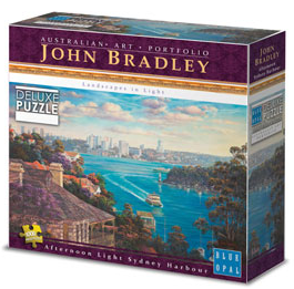 John Bradley - Afternoon Sydney Harbour 1000 Piece Puzzle
