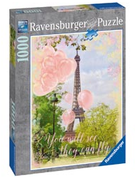 Eiffel Tower Dreams Puzzle 1000pcs