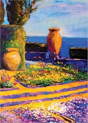 Oil Painting Journal: Villa By The Sea