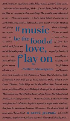 A Novel Journal: William Shakespeare (Compact)