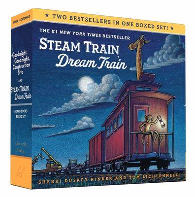 Goodnight, Goodnight, Construction Site & Steam Train, Dream Train (Board Book Boxed Set)