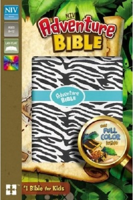 NIV Adventure Bible, Zebra Print Imitation