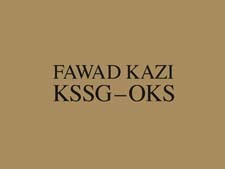 Fawad Kazi Kssg - Oks: Volume I: Project Introduction and Pavilion Kssg
