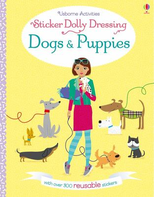 Dogs and Puppies - Sticker Dolly Dressing