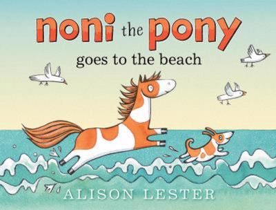 Noni the Pony Goes to the Beach (Board)