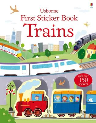 Trains (Usborne First Sticker Book)