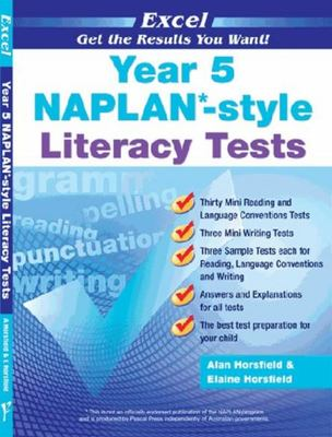 NAPLAN*-style Literacy Tests Year 5 - Excel