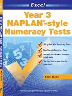 Year 3 NAPLAN*-style Numeracy Tests - Excel