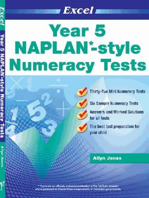 NAPLAN*-style Numeracy Tests Year 5 (Excel)