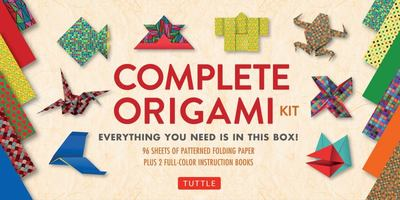 Complete Origami Kit : Everything You Need Is in This Box!