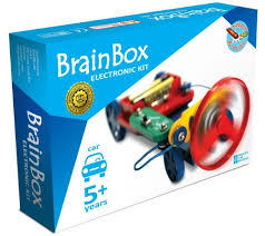 Propeller Driven Electric Car Kit (Brain Box)