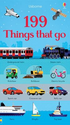 199 Things That Go (Board Book)