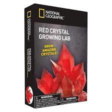 Red Crystal Growing Lab (National Geographic)