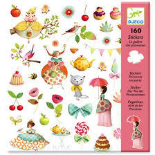 Princess Tea Party - Stickers