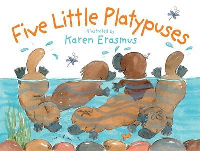 Five Little Platypuses (Board Book)
