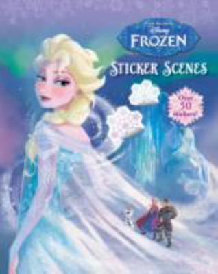 Disney Frozen Sticker Scenes