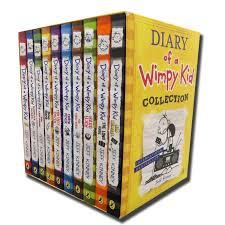 Diary of a Wimpy Kid Collection 1-10