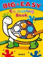 Big and Easy Colouring Book (Turtle)