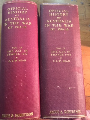 Official History Of Australia in the war of 1914-1918
