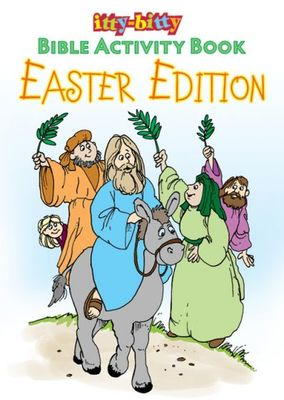 Easter Edition Itty Bitty Activity Book