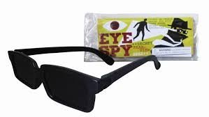 Eye-Spy Secret Rearview Specs Glasses
