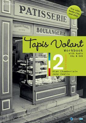 Tapis Volant 2 Workbook with Audio CDs and DVD 3rd edition