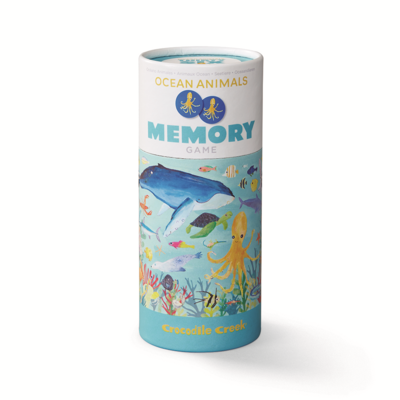 Thirty Six Ocean Animals Memory Game