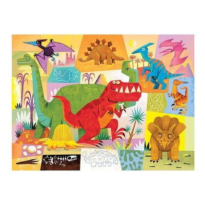 Dinosaur Mini Shaped 24pc Puzzle