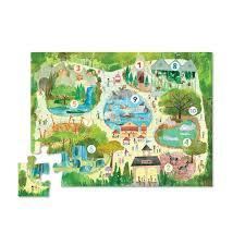 123 Zoo 24pc Floor Puzzle