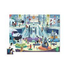 """Space """"Day at the Museum"""" 48pc Puzzle"""