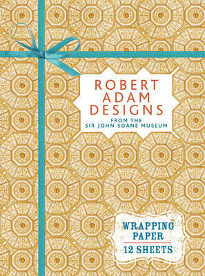 Robert Adam Designs: Wrapping Paper Book