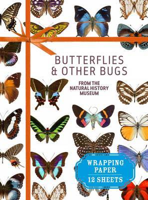 Butterflies and Other Bugs: From the Natural History Museum Wrapping Paper Book