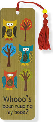 Owls Beaded Bookmark