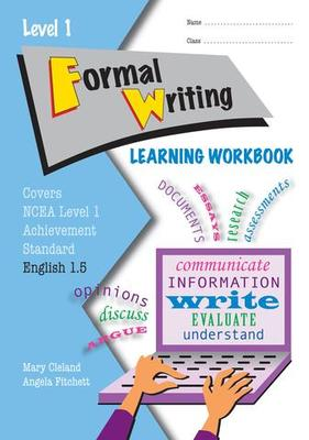 ESA NCEA Level 1 Formal Writing AS 1.5 Learning Workbook
