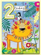 2 Today Lion card