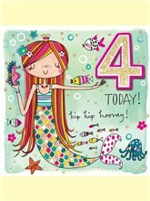 4 Today Mermaid card
