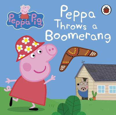 Peppa Pig: Peppa Throws a Boomerang (Board Book)