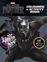 Marvel Black Panther: Colouring and Activity Book