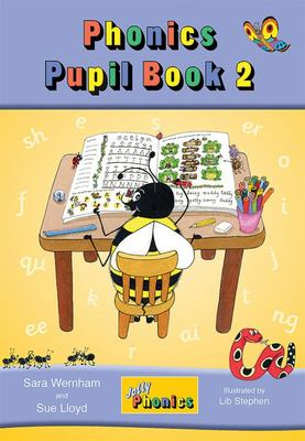Jolly Phonics Pupil Book 2 (Colour in precursive letters) - MTA
