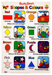 Buzzy Bee's Shape & Colours Wallchart
