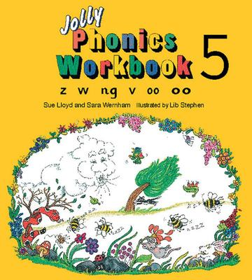Jolly Phonics Workbook 5